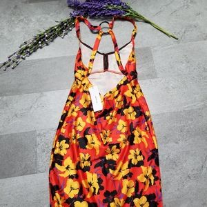 Urban Outfitters Dresses - Hawaii floral bodycon mini dress